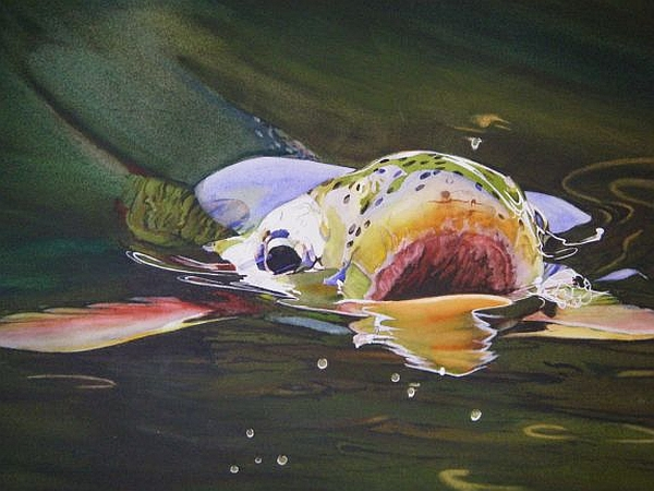 Other articles for Fly fishing art