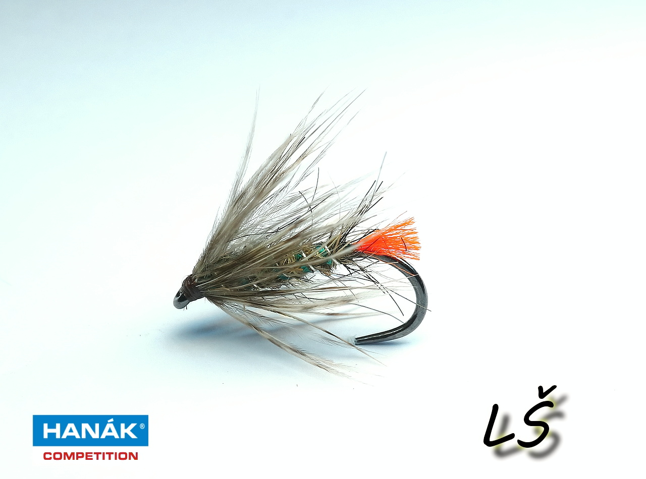 Wet fly made on wet hook H 200 BL