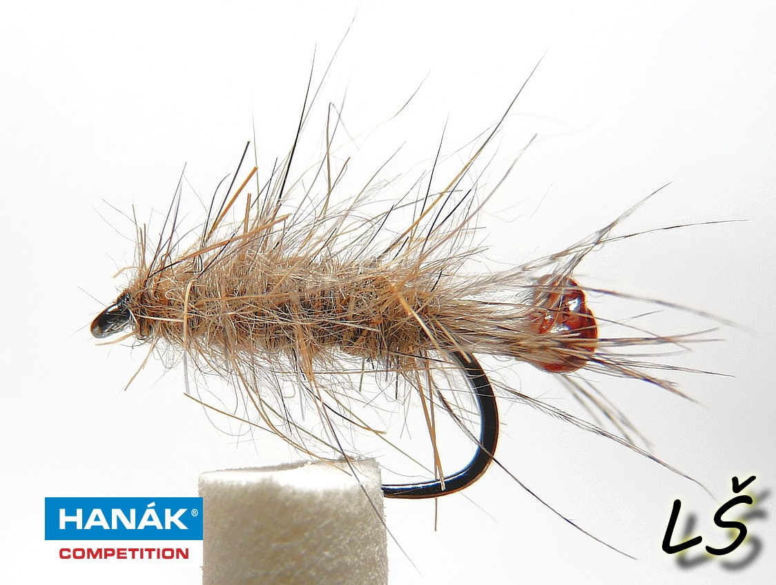 Wet fly made on wet hook H 230 BL
