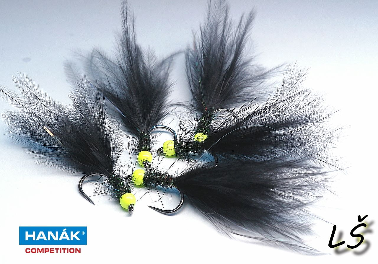 Lures made on wet hook H 260 BL