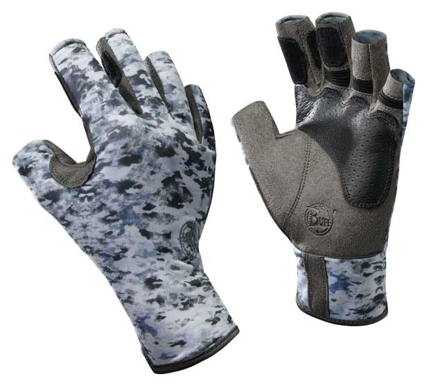 Angler Gloves Pro-Series Fish Camo