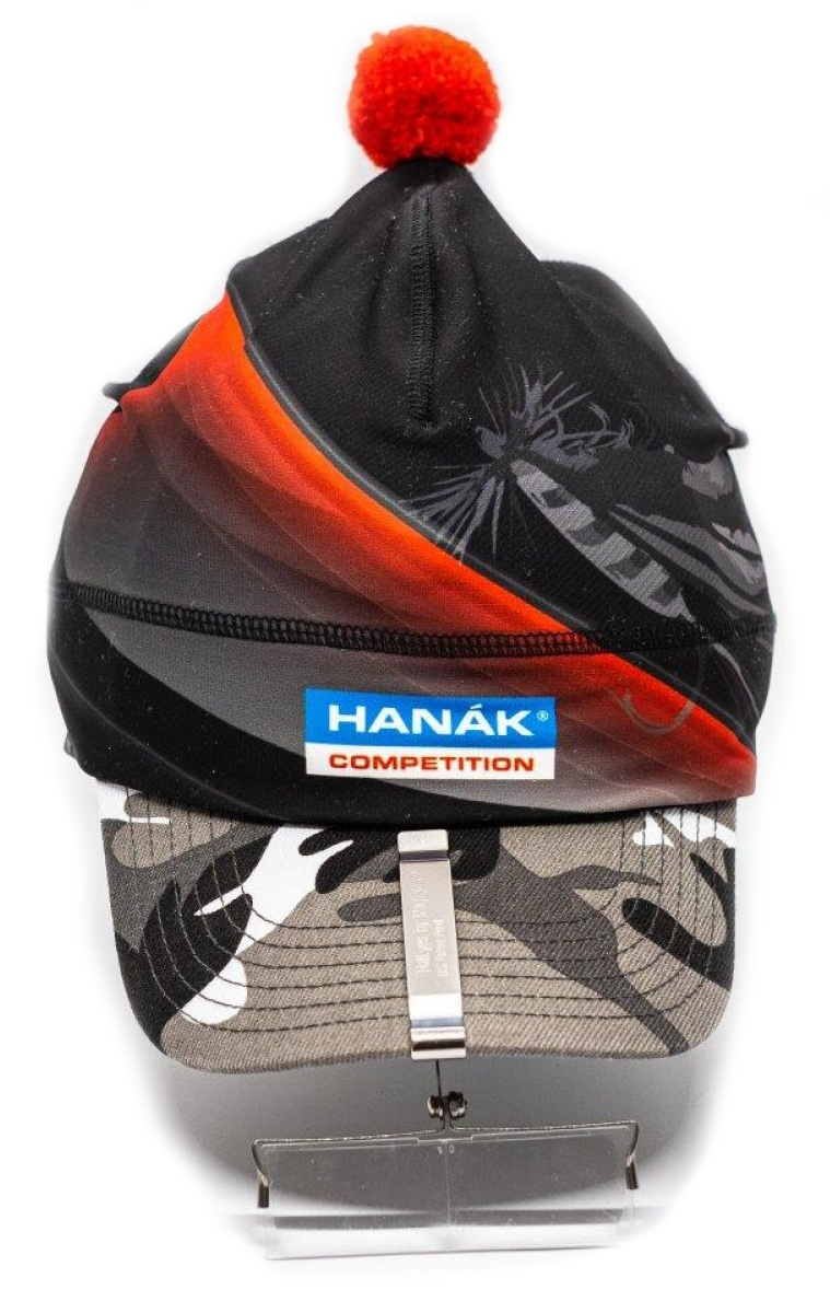 Winter Beanie Hanak Competition Black & Red