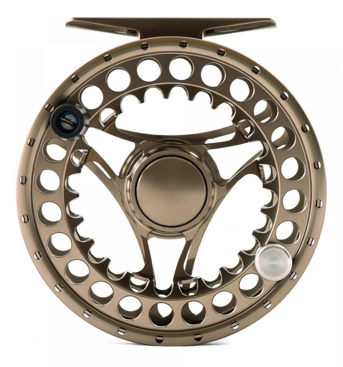 Superb II Fly Reel Fron Side