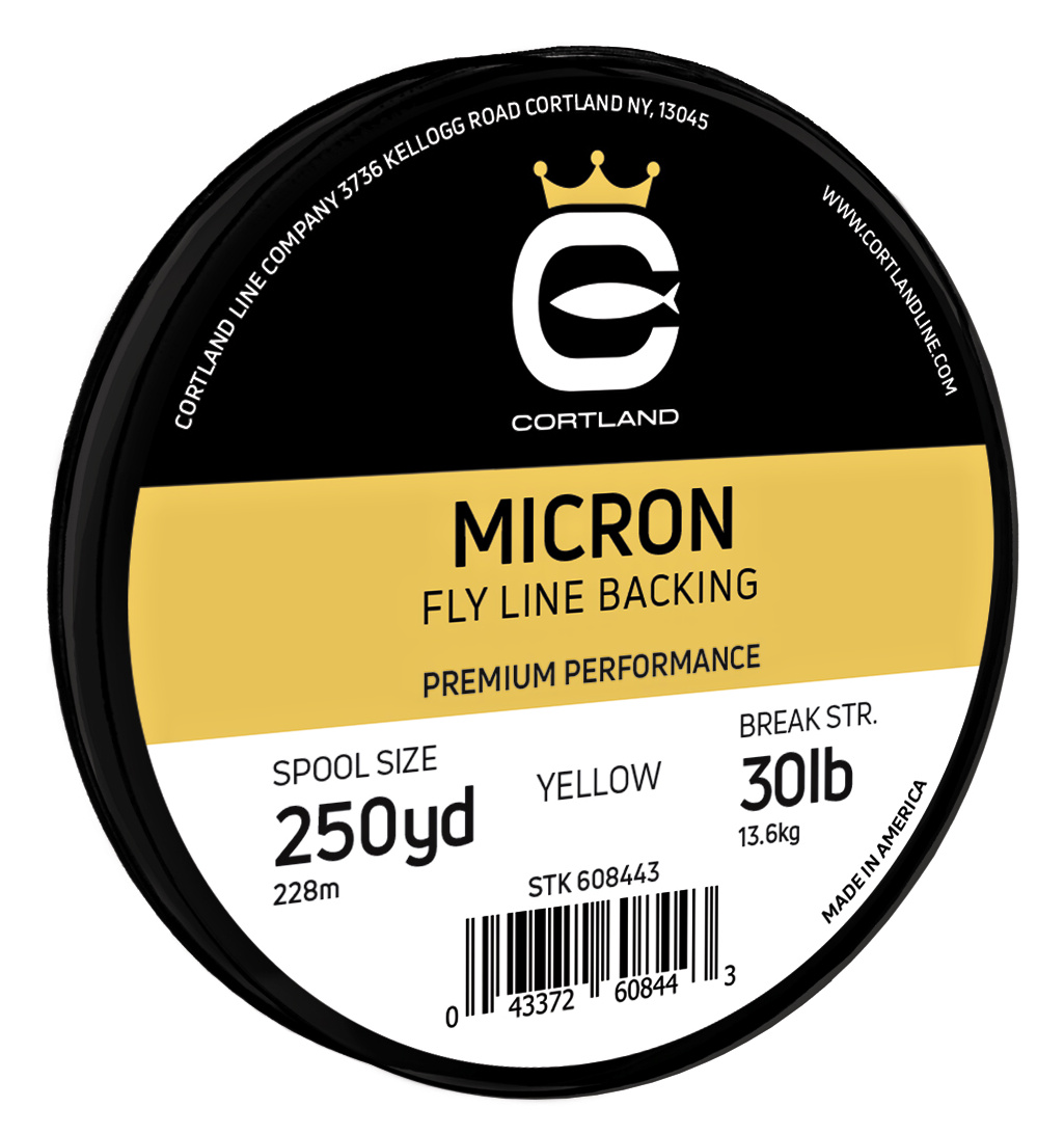 Backing Line Cortland Micron Yellow