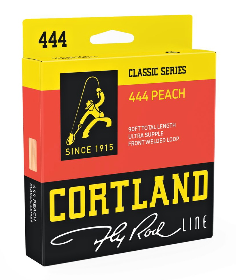 Fly Line Floating Cortland 444 PEACH Classic WF - Package