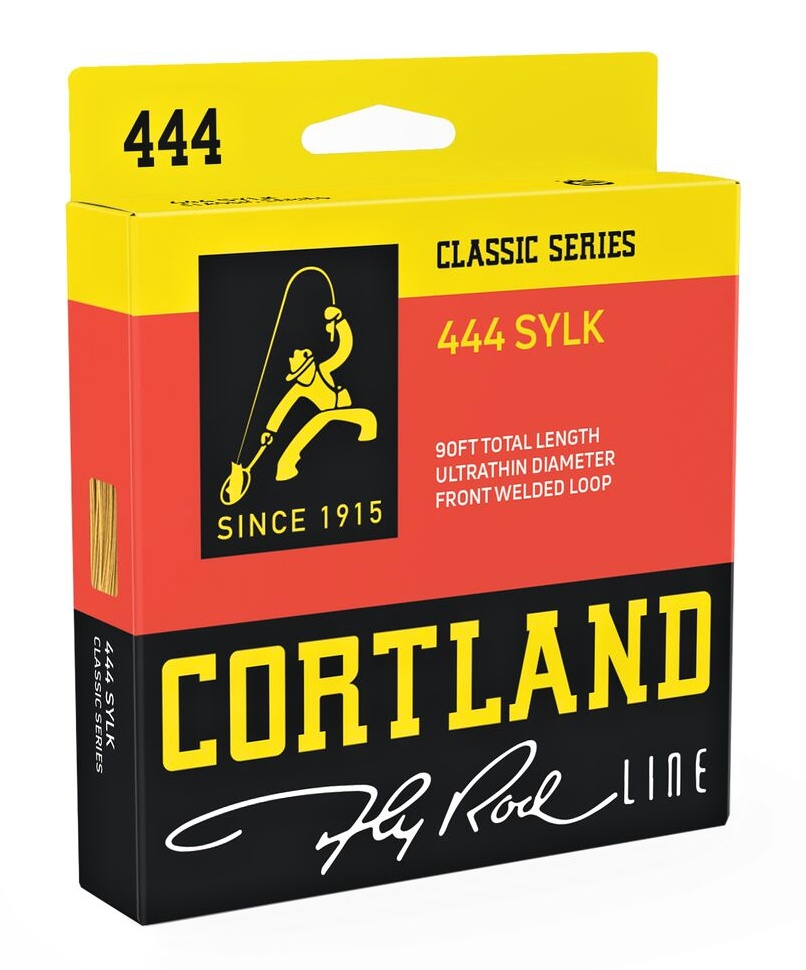 Fly Line Floating Cortland 444 SYLK Classic WF - Package
