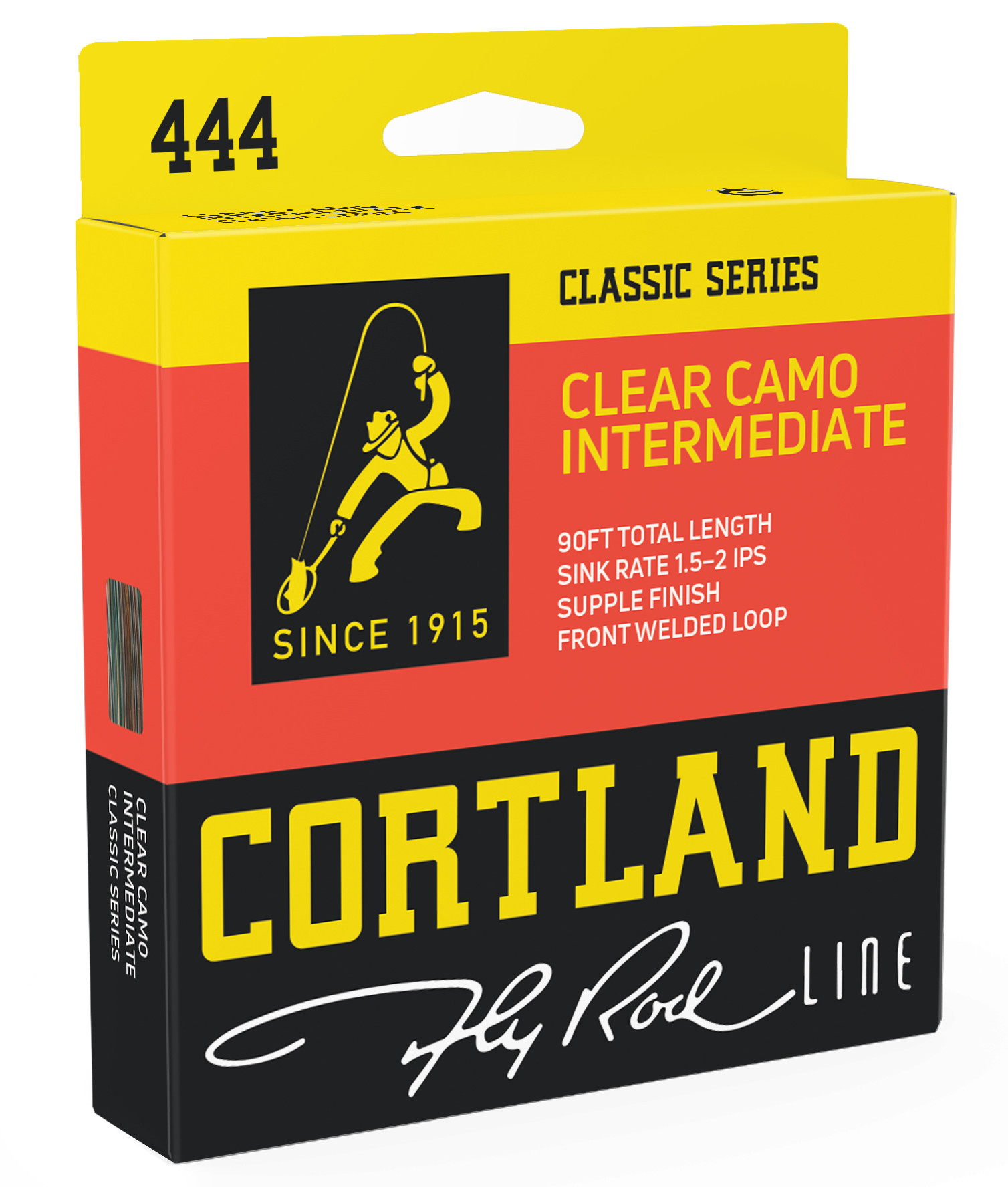 Fly Line Intermediate Cortland 444 CLEAR CAMO Classic - Box