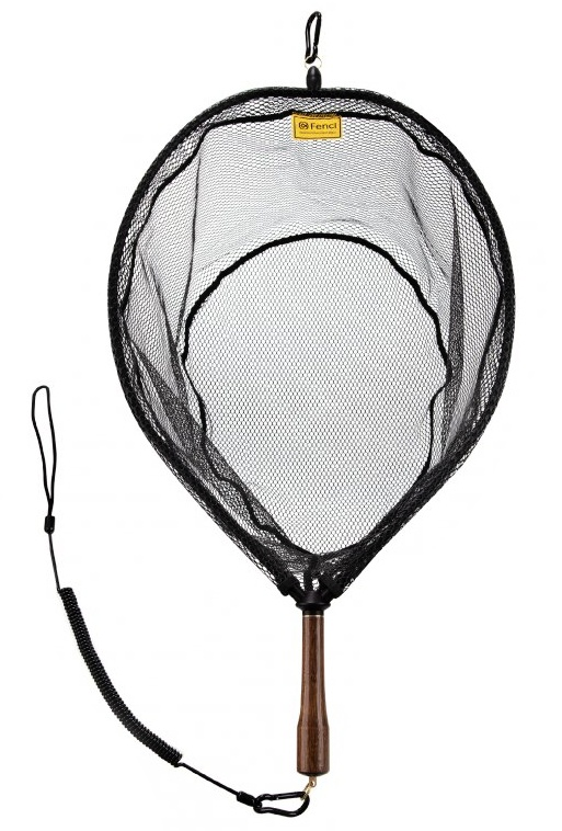 Fly Fishing Landing Net With Magnet Fencl King 2 Nature XL