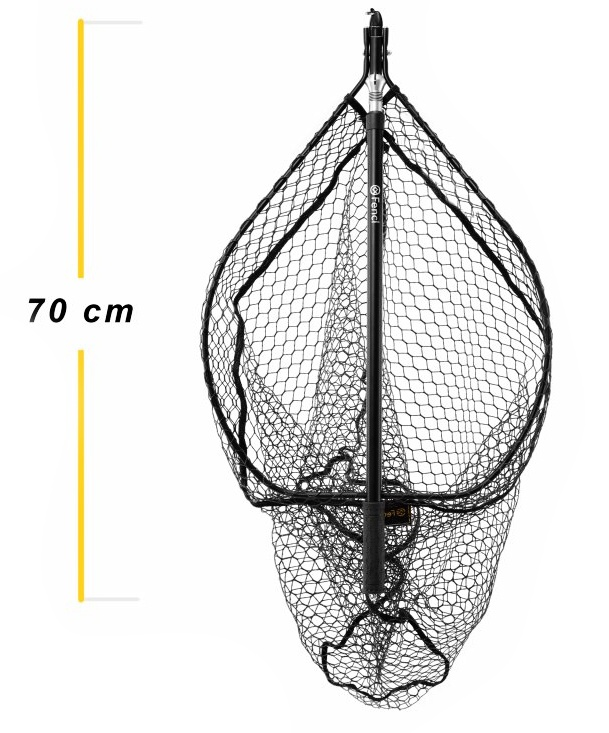 Stillwater Landing Net With Magnet Fencl Folding Telescopic