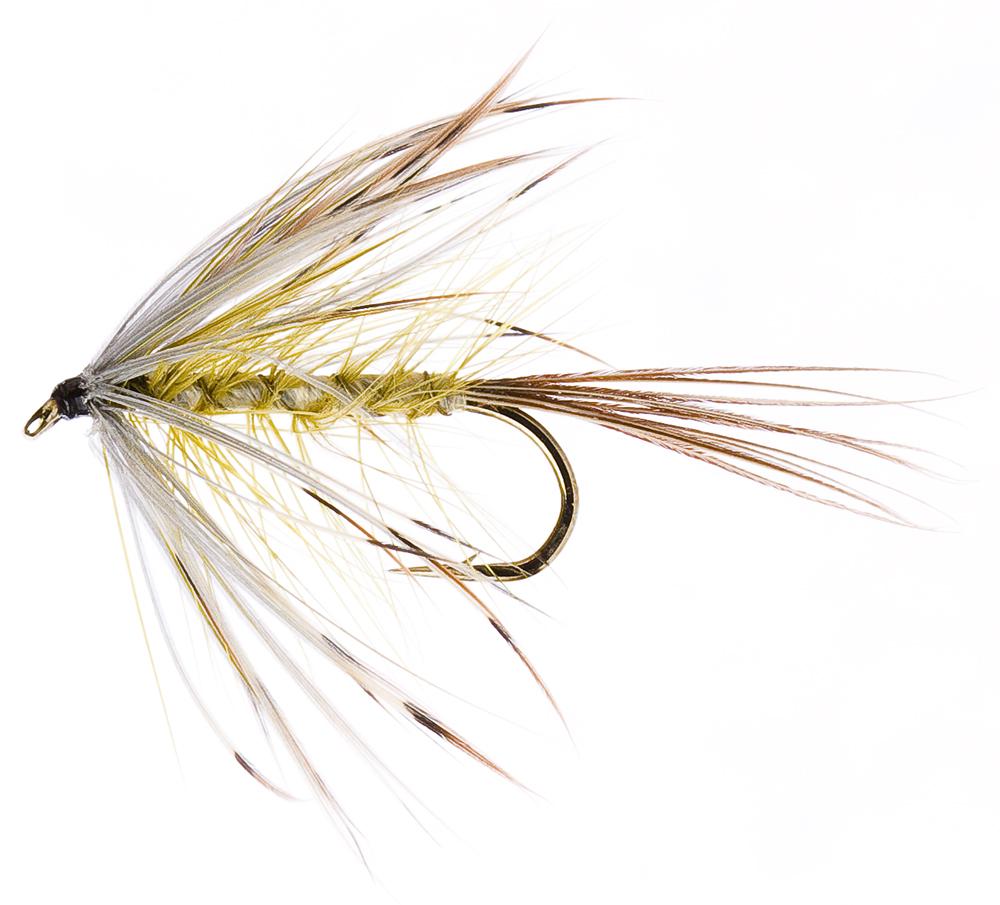 Salmoflies Fishing Flies French Partridge Mayfly size 12 L//S Irish pattern