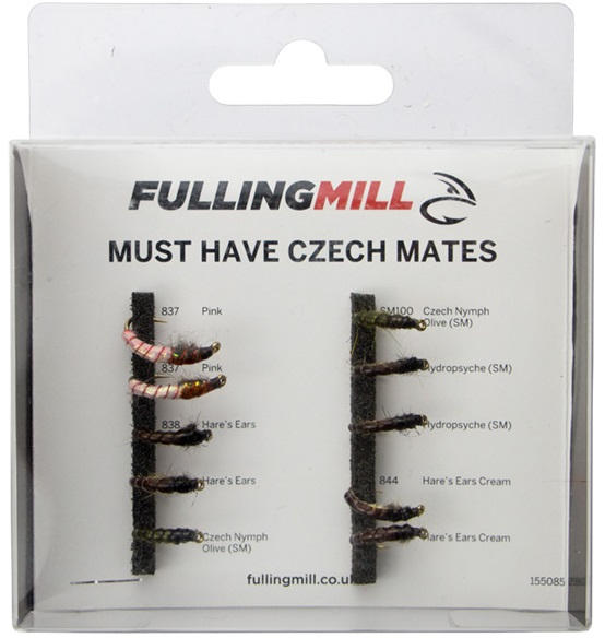 Must Have Czech Mates Fulling Mill Fly Selection