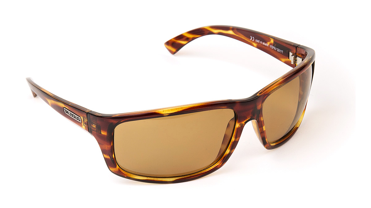 Polarised Glasses Guideline Viper - Havana Demi Brown frames/Brown lenses