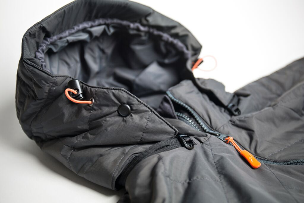 Fly Fishing Jacket Guideline Alta Loft Graphite