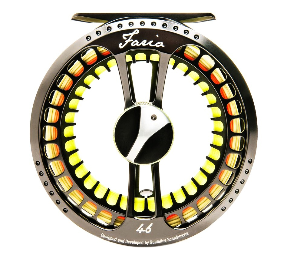 Fly Reel Guideline Fario LW Anthracite - Back Side