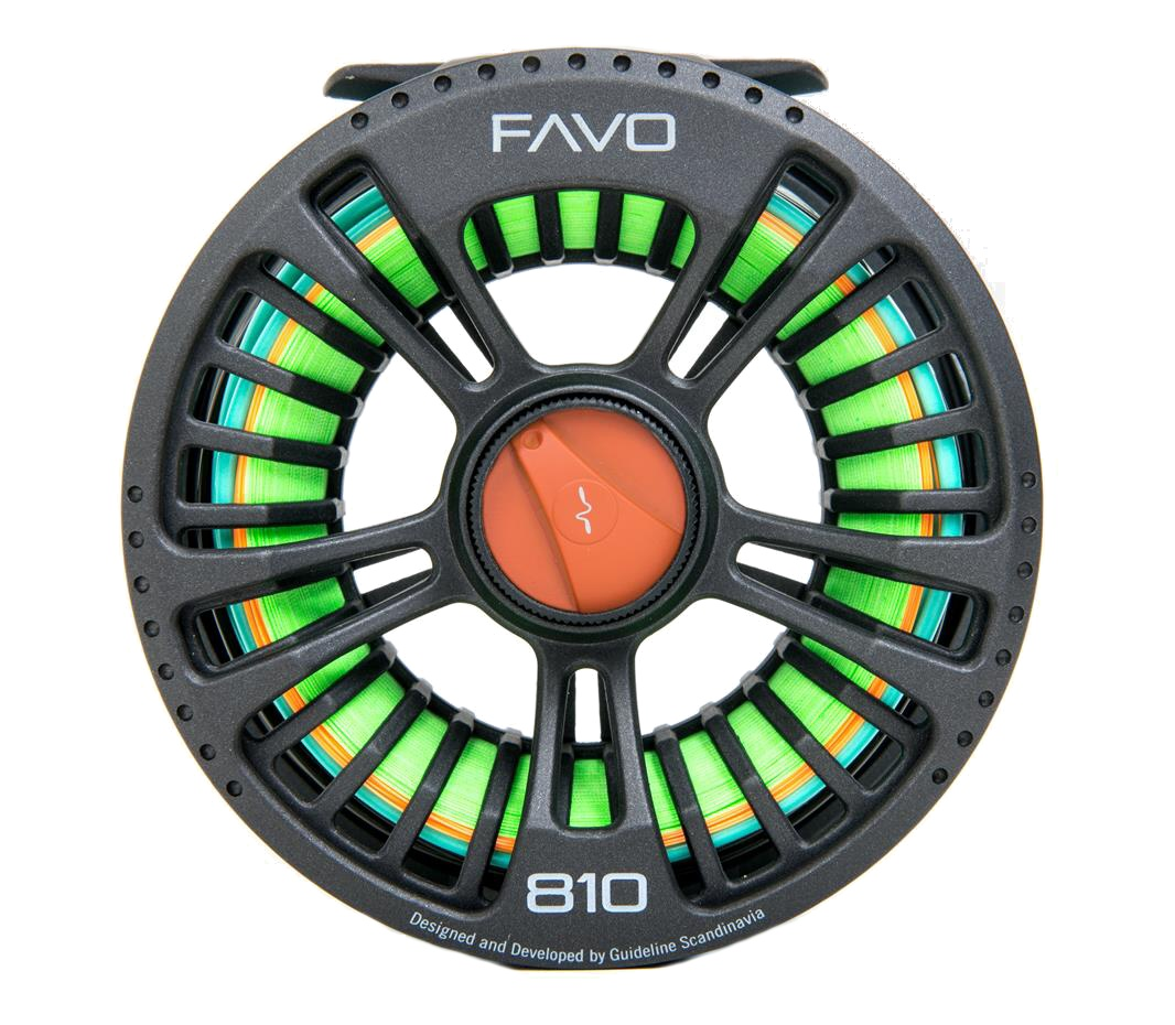 Fly Reel Guideline FAVO 810 - Back Side