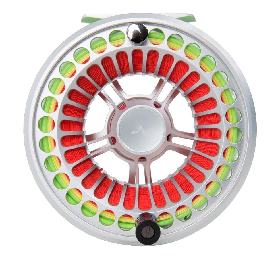 Fly Reel Guideline Vosso Silver - Front side