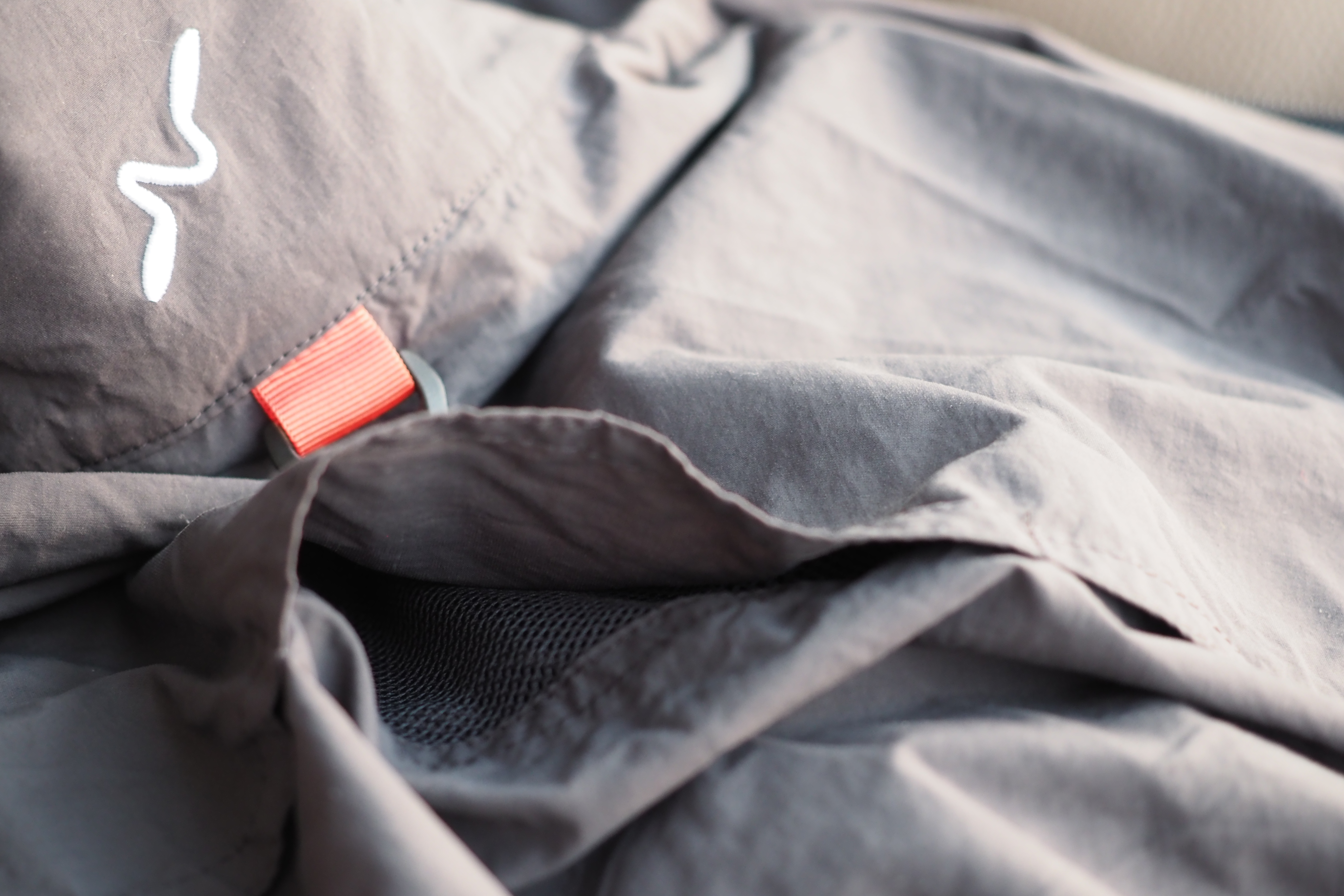 Fly Fishing Shirt Guideline Alta Windshirt Charcoal