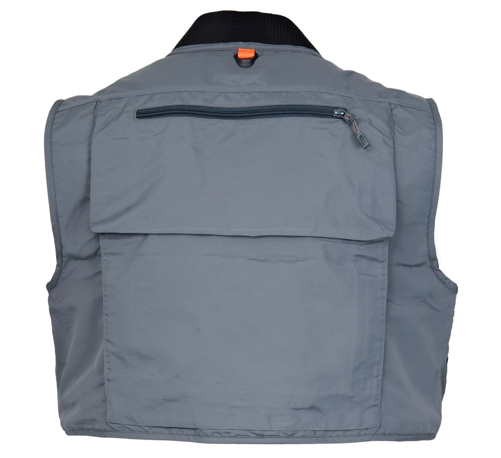 Fly Fishing Vest Guideline Laxa - Back Side