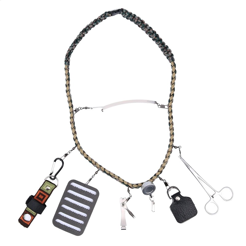 Fly Fishing Lanyard Leichi With Accessories