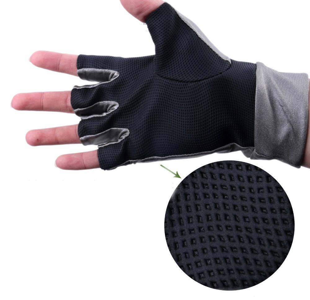 Fly Fishing Sun Gloves Leichi Anti UV - Palm