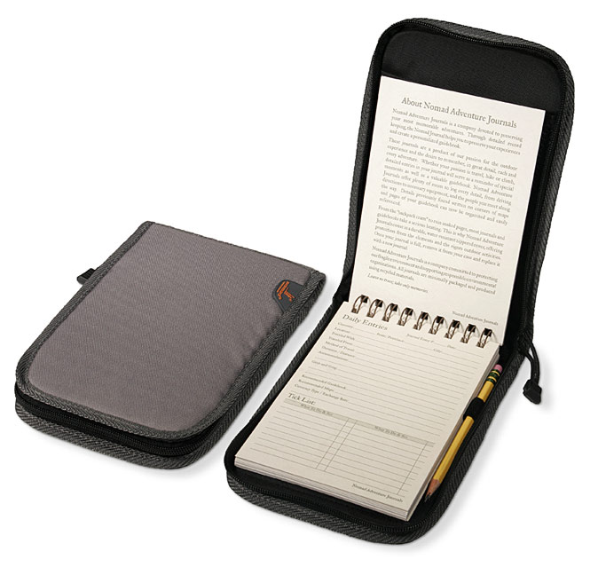 Journal with the waterproof case