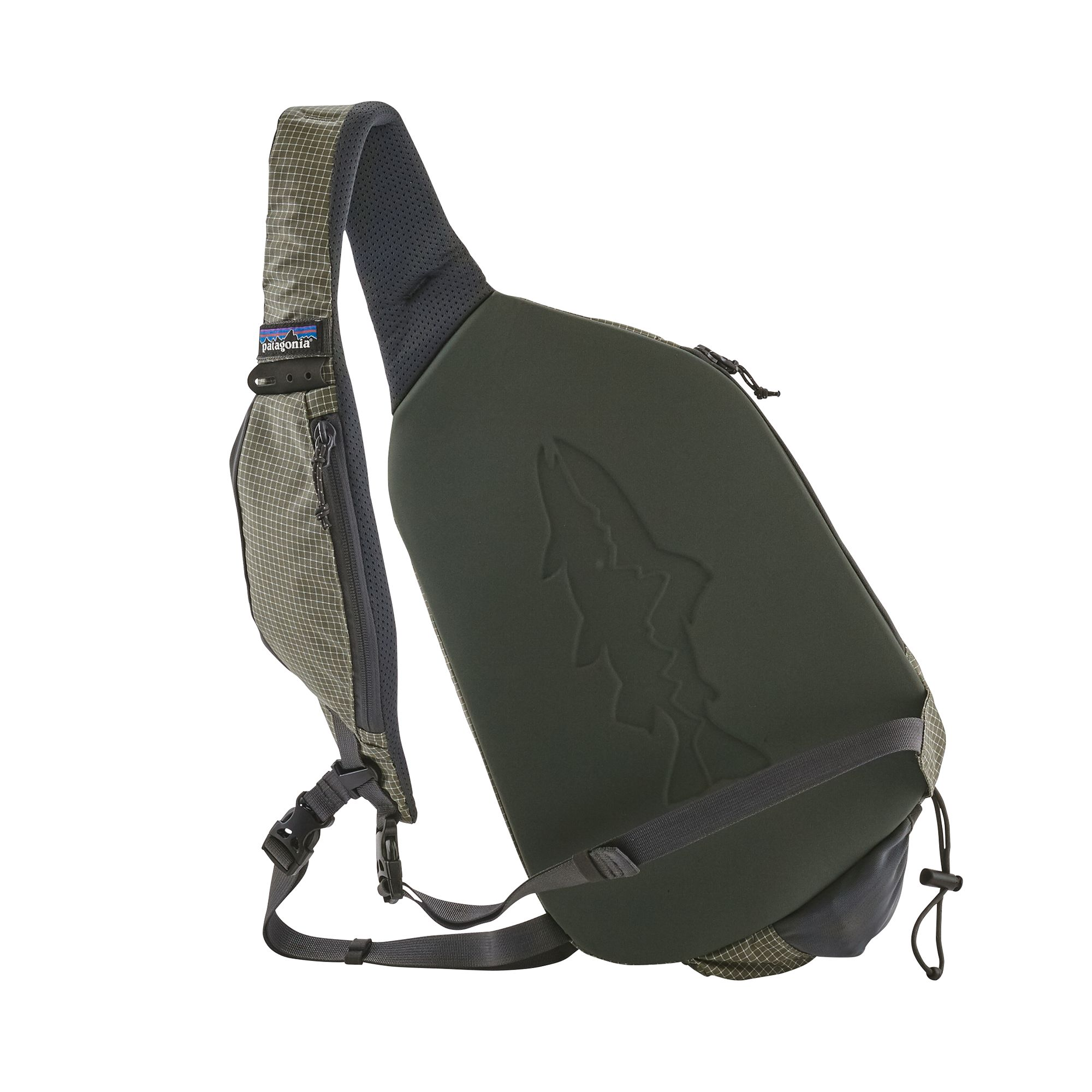 Stealth Atom Sling 15L Patagonia - Back side
