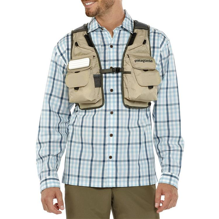 Patagonia hybrid pack vest shop for Patagonia fly fishing shirt