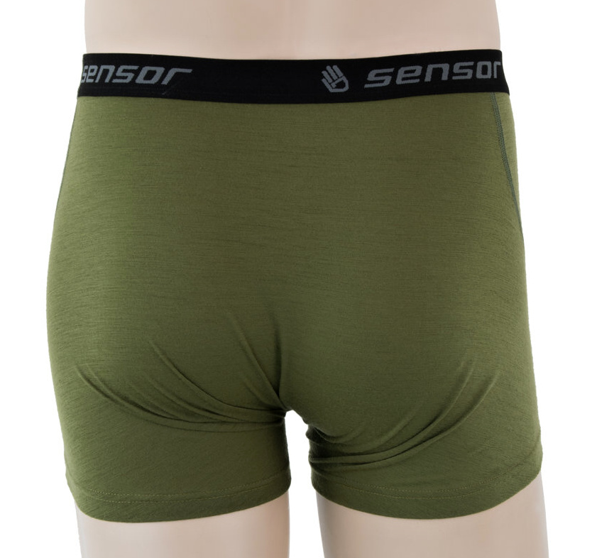 Functional Boxers Sensor Merino Active Safari - Back Side