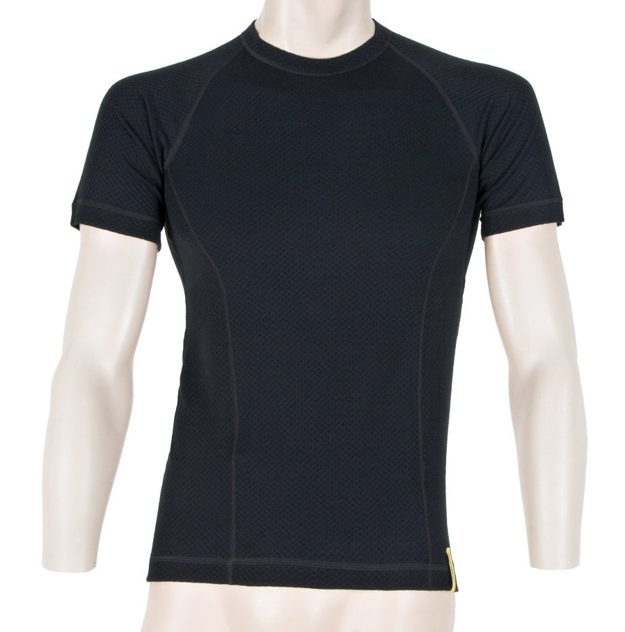 Functional T-Shirt Sensor Merino DF Black - Front Side