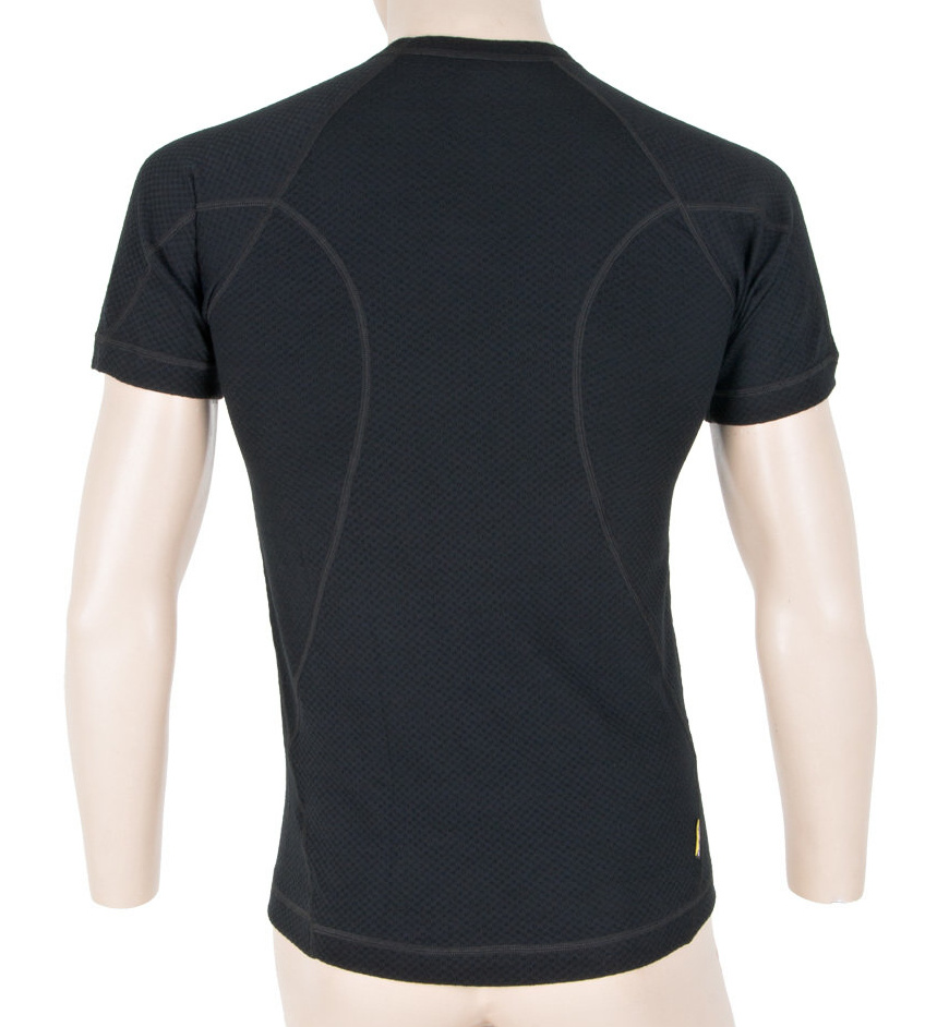 Functional T-Shirt Sensor Merino DF Black - Back Side