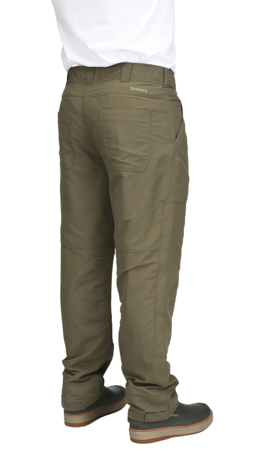 ColdWeather Pants Simms Dark Stone - Back Side