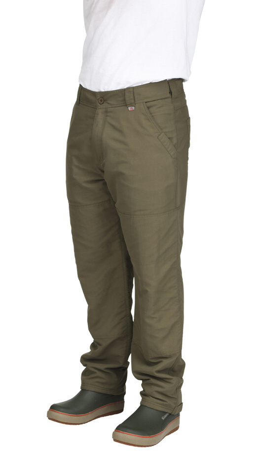 ColdWeather Pants Simms Dark Stone - Front Side