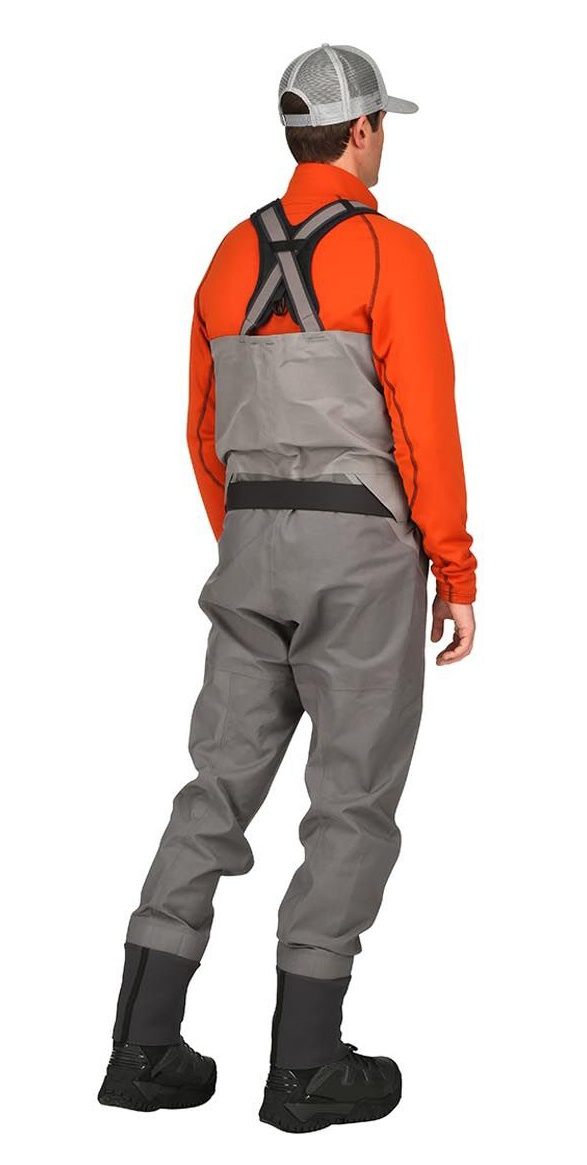 Fishing Waders Simms G4 Pro Stockingfoot Slate - Back Side