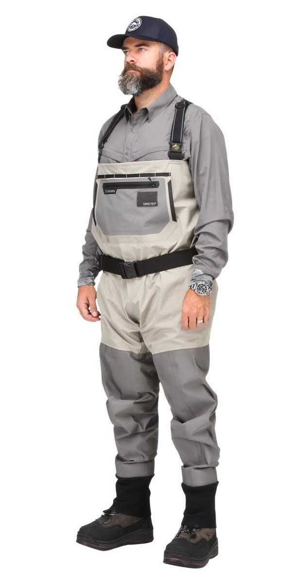 Fishing Waders Simms Headwaters Pro Stockingfoot - Front Side