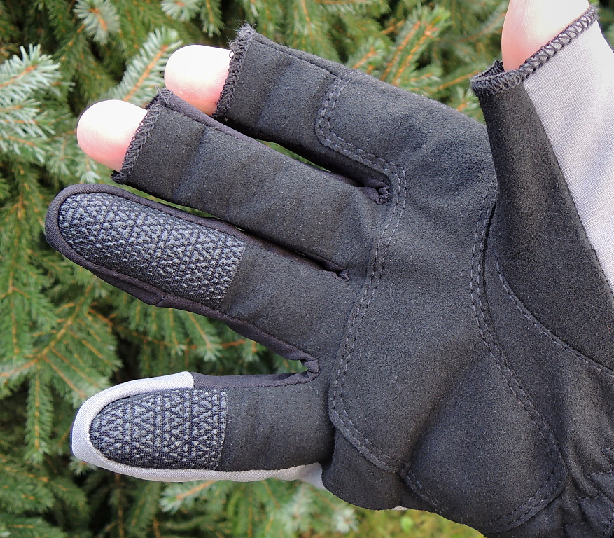 Fly Fishing Gloves Patagonia Shelled Insulator Fingerless - Palm
