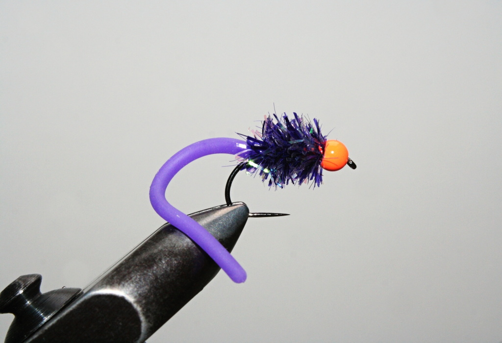 Orange Head Purple Lake Lure - Great attractor for stillwater rainbows