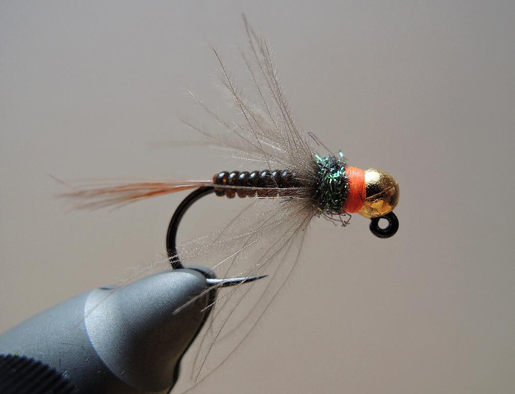 13 Fliegentom Nymph 3 piece Tungsten Jig No