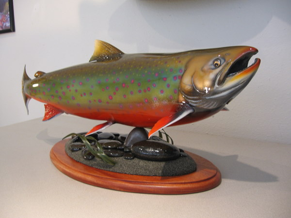 Dolly Varden on Pedesal Base