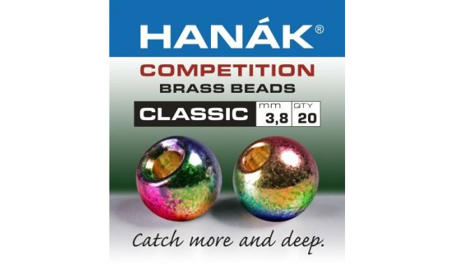 Brass Beads Hanak Competition CLASSIC Metallic Rainbow Brass Beads Hanak Competition CLASSIC Metallic Rainbow 2,0 mm, 20 pcs