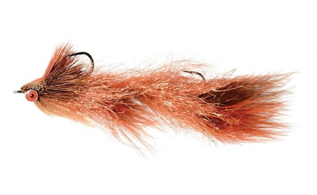Articulated Trout Slider Copper Articulated Trout Slider Copper, Size 1